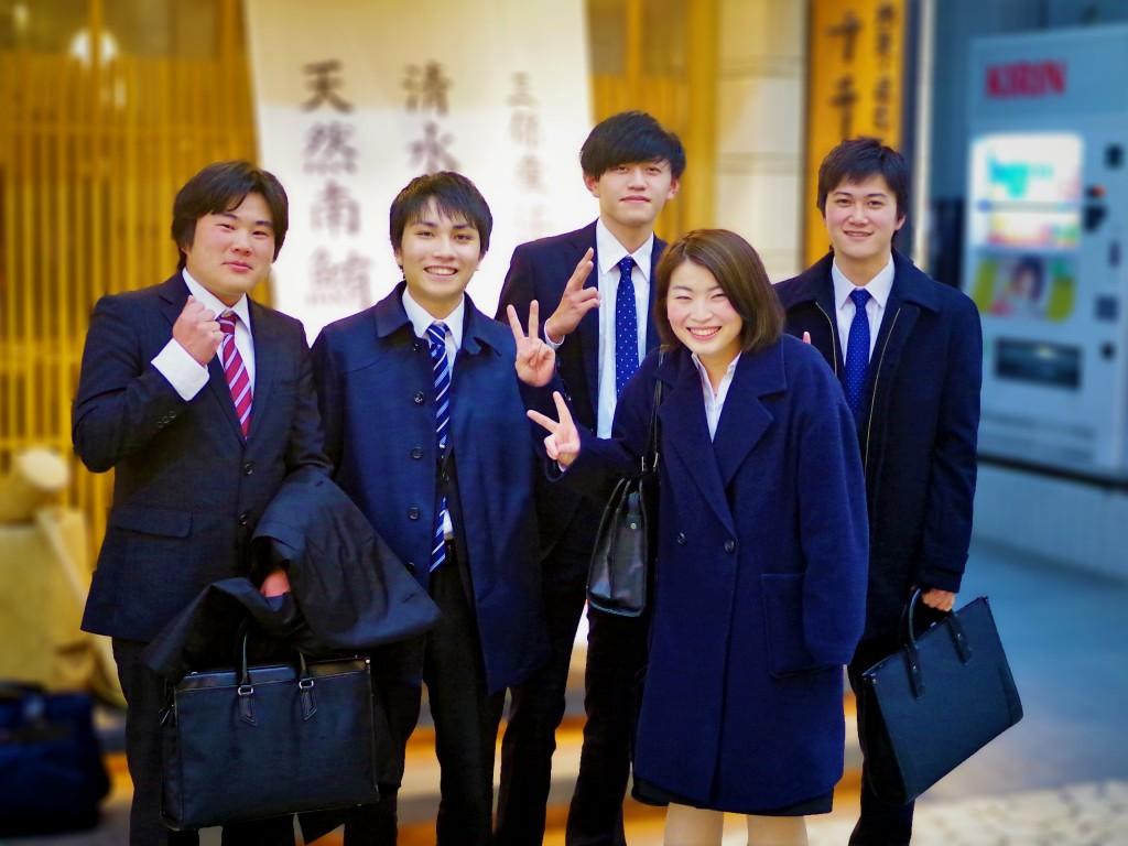この春、この5人が鈴与カーゴネットに入社します!